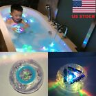 Kids Baby Bathroom LED Light Color Changing Toys Waterproof In Tub Bath Toy USA