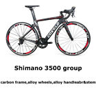 Costelo Speedcoupe road bicycle carbon fiber complete bike wheels shimano group