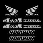 Honda Rubicon Decals MANY COLORS Fourtrax Foreman stickers decal sticker kit