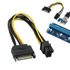 6 Pin To Dual 8 Pin Sata 22 Pin To IDE Splitter PCI-E Power Extension Cable