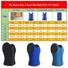 Men Neoprene Slim Shirt Body Fat Burner Shaper Lose Weight Fajas Belly Underwear