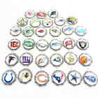NFL Football Sports Team Pendant round Charms, Buy 3 & get a team charm free $2.75 USD on eBay