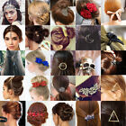 34 Styles Women Gold Silver Animal Flower Hairpin Hair Clip Hair Accessories