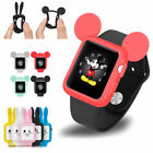 Mickey Mouse Style Bumper Silicone Case Cover For iWatch Apple Watch Series