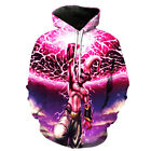Women/Men Dragon Ball Goku Anime 3D Print Casual Hoodie Sweatshirt Pullover Tops
