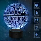 3D LED Night Light Lamps 3D Optical Illusion Touch Table Desk Lamp Gifts Toys