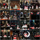 Merry Christmas Window Stickers Decoration Decal Home Decor Xmas Santa Claus Pro