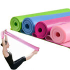 1.2m Yoga Pilates Exercise Elastic Fitness Rubber Stretch Band belt Resistance image
