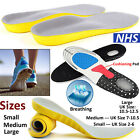 WORK BOOT ORTHOTIC FOOT ARCH SUPPORT HEEL SHOE INSERTS GEL MASSAGING INSOLES LOT