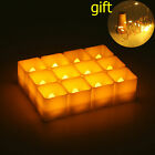 Flameless LED Battery Candle Flickering Tea Lights Birthday Home Valentine's Day