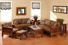 Contemporary Wooden Sofa set with 1 Center Table (WSS177)