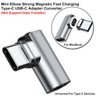 L Shaped Elbow Magnetic 4.3A High-Speed Charging Type-C USB Adapters Converters