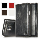 Ultra Thin Magnetic Leather Wallet Flip Card Case For Samsung Galaxy Note 5 4