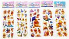 【TOP SALE】3D Puffy Kids Scrapbooking & Paper Crafts Party Favors Stickers Lot A+