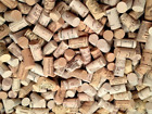 Wine Corks - Wine Corks 100 ALL Natural New Mix Of Logos NOT USED 5 10 20 25 50 100 200 500