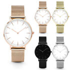 Luxury Women Men Stainless Steel Watch Analog Quartz Bracelet Wrist Watches Gift