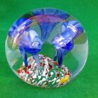 SELECTION OF ASSORTED GLASS PAPERWEIGHTS.