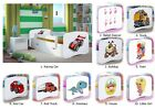 Single Bed BabyDreams - For Kids Children Toddler Junior 140x70 160x80 180x80
