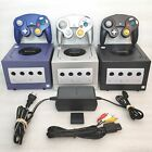 Nintendo GameCube Console System CLEANED TESTED *VERY GOOD Black Indigo Platinum