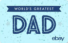 eBay Digital Gift Card - Happy Father's Day $25 $50 $100 or $200 - Emailed