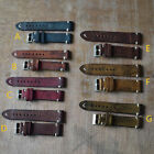 Vintage Style Straps Distressed Leather Wome/Men Watch Band Strap with Stitching