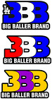 BBB - BIG BALLER - PURPLE & GOLD - LOS ANGELES SHOWTIME LAKE SHOW Sticker Decal on eBay