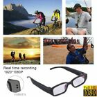 Mini HD 1080P/720P Spy Camera Glasses Hidden Eyewear DVR Recorder Camcorder US
