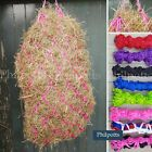 """STRONG Haynet / Hay Net. approx 38"""" with metal rings. Pack of 1,2,3,4,5, 6 or 10"""