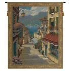 Bellagio Village Belgian Tapestry Wall Hanging