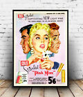 Pink Minx : Vintage  Make-up Advertising, Wall art , poster, Reproduction.