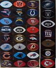"""NFL Football Shaped Stickers (4"""" x 2.5"""") NEW - 25 Teams to Choose From $1.23 USD on eBay"""