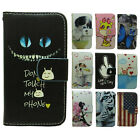 1x Don't Touch My Phone UK US Flag Wallet Stand flip case cover for Xiaomi Redmi