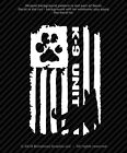 Distressed K9 Unit Police Flag Vinyl Decal Canine Military Sticker - 4 Sizes