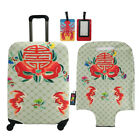New Travel Luggage Cover Suitcase Protector Luggage Cool Flowers Design