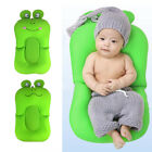 Infant Bath Tub Pillow Shape Pad Lounger Air Cushion Floating Soft Seat Infant