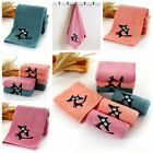 NEW Stripe Embroidery Cat Absorbent Cotton Cleansing Face Hand Towel