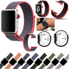 Breathable Woven Sport Loop Bracelet Wrist Band Strap For iWatch Watch 42MM 38MM