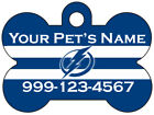 Tampa Bay Lightning Custom Pet Id Dog Tag Personalized w/ Name & Number $11.67 USD on eBay