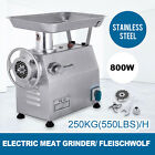 250KG/H Commercial Meat Grinder Stainless Steel l Industrial Heavy Duty Mincer