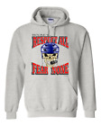 Gildan Hoodie Pullover Sweatshirt Hockey Respect All Fear None