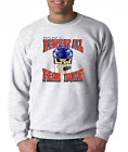 Gildan Crewneck Sweatshirt Hockey Respect All Fear None