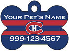 Montreal Canadiens Custom Pet Id Dog Tag Personalized w/ Name & Number $11.67 USD on eBay