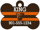 Cleveland Browns Custom Pet Id Dog Tag Personalized w/ Name & Number $9.87 USD on eBay