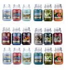 Yankee Candles Fragrance new for 2018 Candles Classic small 3.7oz Glass Jar#