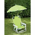 Folding Kids Chair with Parasol for Protection