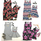 Mommy and Me Outfits Mother Daughter Matching Girl Floral Dress Family Outfits