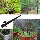 50PCS Micro Bubbler Drip Irrigation Adjustable Emitters Stake Water Dripper ATA
