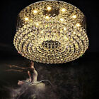 Modern fashion K9 Clear Crystal Flushmount Chandelier Ceiling Light Fixture 9829