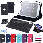 "For Samsung Tab E 7"" 9.6"" Tablet Bluetooth Keyboard Universal 360° Rotating Case"