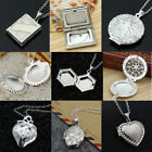 Wholesale Jewelry 925 Silver Filled Charm Crystal Pendants Necklace Chain Gift